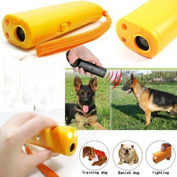 anti bark dog training device